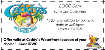 Coupon for Caddys Waterfront Dining