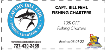 Coupon for Captain Bill Fehl Fishing Charters