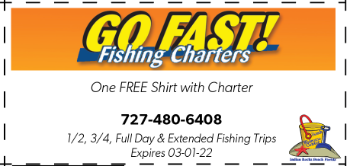 Coupon for Go Fast Fishing Charters
