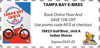 Coupon for Tampa Bay E-Bikes